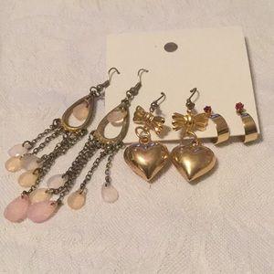 🌻Mystery Estate Bundle of 3 Pierced Earrings 🌻